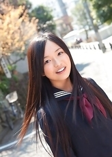 Mayumi Yamanaka takes a walk in her city after classes